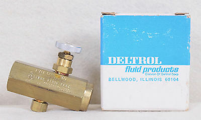 Deltrol Fluid Products Flow Control Valve F20BK