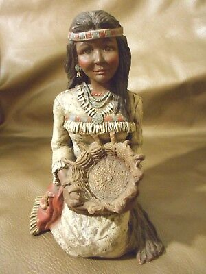 Sarah's Attic Limited Edition #755 Bright Sky Woman Native American