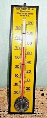 """Vintage Advertising Plastic Wall Thermometer 8.5"""" Springfield USA"""
