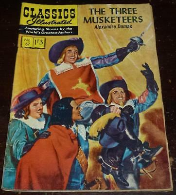 Classics Illustrated No.67 The three musketeers see both images