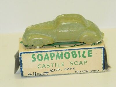 Vintage Studebaker Soapmobile in Original Box, Castile Soap by Hewitt