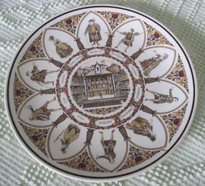 WEDGEWOOD SHAKESPEARE CHARACTERS Collectible Plate for All the