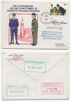 1979 GB Event Cover CADET FORCE 75th ANNIVERSARY FINCHLEY Signed + CONTENTS