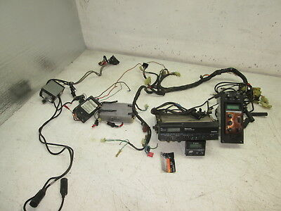 Honda 1985 GL1200 GL 1200 GOLDWING 9/17  PANASONIC RADIO, CB TRANSCEIVER & MISC