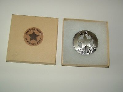 U.S. Marshal (cut out star) PH-20 badge