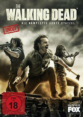 Vorbestellung: The Walking Dead - Staffel/Season 8 / Uncut # 6-DVD-NEU
