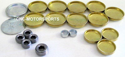 Pioneer PE-109-BR Brass Freeze Frost Expansion Plug Kit Ford 351C 351M 400