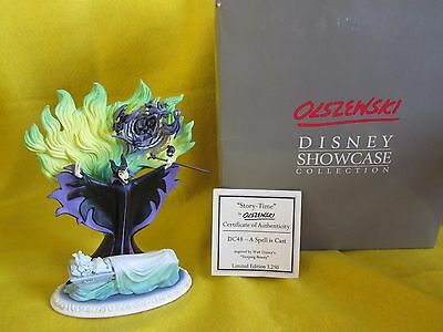 Disney Showcase Collection OLSZEWSKI Maleficent A Spell Is Cast Limited 3250!