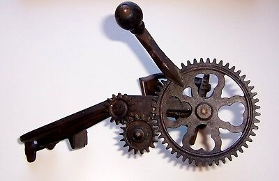 Antique Cast Iron Apple Peeler Goodell Turnable 98 Good Condition