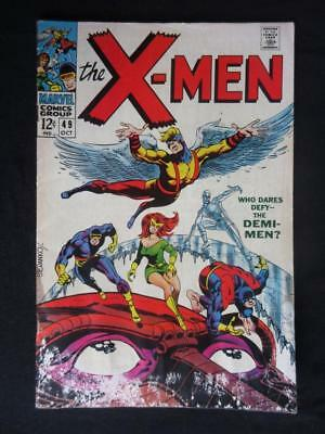 X-Men #49 MARVEL 1968 - 1st Polaris - Jim Steranko, Cyclops, Beast, Stan Lee!!!