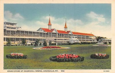 C09-3869, Grand Stand At Churchill Downs, Louisville, Ky.