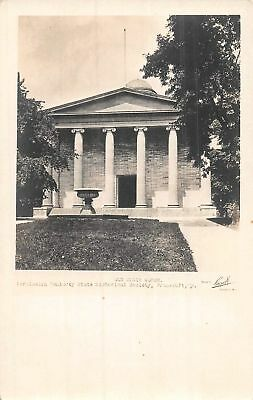 C09-3980, Real Photo Postcard, Old State House, Frankfort, Ky.