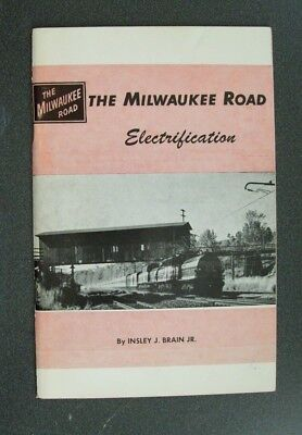 The Milwaukee Road Electrification - By Brian, Jr. - 1961 Western Railroader