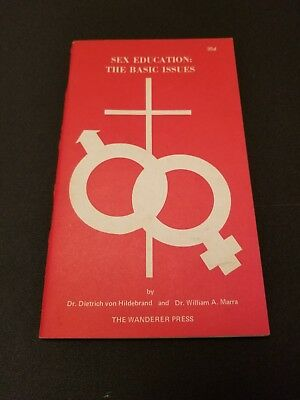 Vtg 1969 Sex Education The Basic Issues Booklet