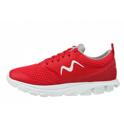 New MBT Women's Speed 17 Lace Up Running Shoe Red 7