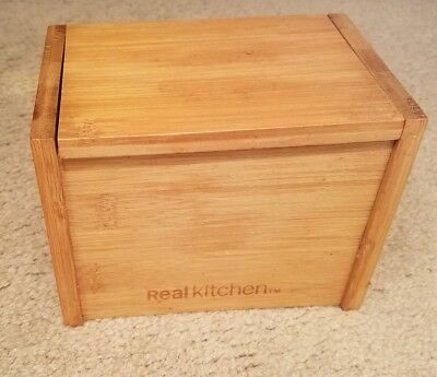 Red Wood Recipe Box Country Kitchen Holds 3 X 5 Recipe Cards Made In