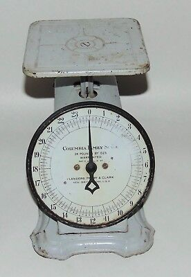 ANTIQUE COLUMBIA FAMILY SCALE Lander's Frary & Clark