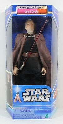 2002 Star Wars: Attack of the Clones: Count Dooku Action Figure - NEW!