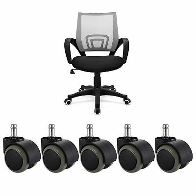 5X10X Office Chair Caster Wheel Swivel Wood Floor Home Furniture Replacement
