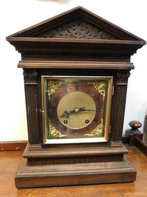 winterhalder & hoffmeir 1/4 striking bracket clock