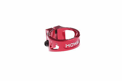 MOWA ASC Road Cyclocross Mountain MTB Bicycle Bike Seatpost Clamp 34.9mm Red