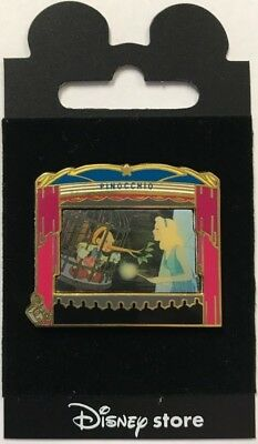 Japan Disney Store Pinocchio & Blue Fairy Theatre Pin Series LE Pin