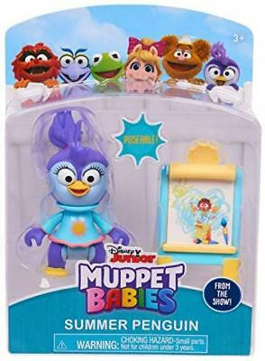 Summer Penguin Muppet Babies Poseable Action Figure 2.5""