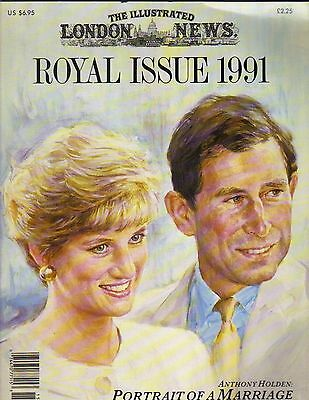 PRINCESS DIANA PRINCE CHARLES UK The Illustrated London News Magazine 1991