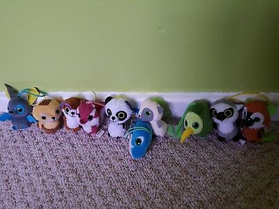 Yoohoo And Friends Happy Meal Mcdonalds Toys X10