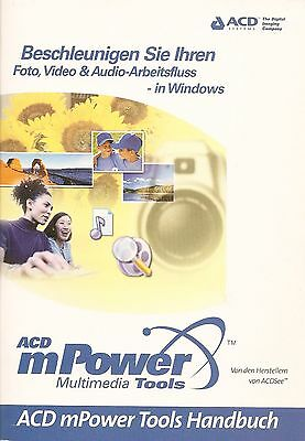 Foto, Video & Audio-Bearbeitung in Windows - ACD mPower Handbuch