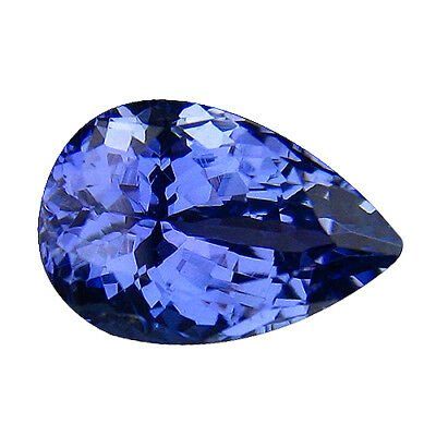2.39Ct MIND BOGGLING ! TOP RICH FIRE AAA BLUISH VIOLET NATURAL TANZANITE