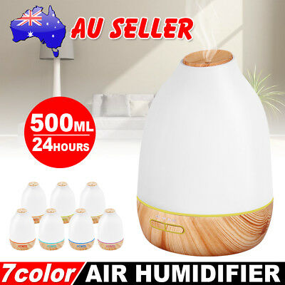 6L Air Humidifier Ultrasonic Cool Mist Steam Aroma Diffuser Purifier Nebuliser