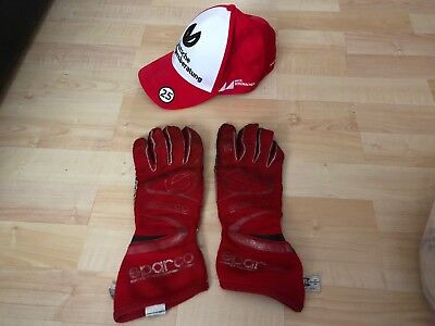Original Mick Schumacher Gloves Handschuhe & Cap USED BY MICK **Mega RAR**