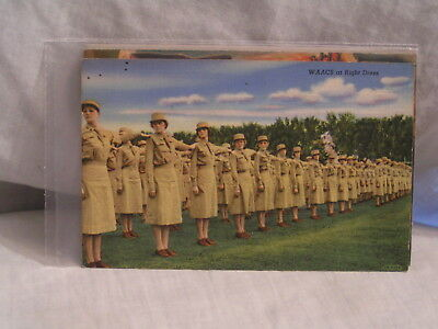 W W 2 Post Card For The Waacs