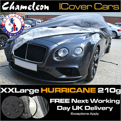 Waterproof XXL Car Cover, Heavy Duty 210G, Double Stitched, UV Protection