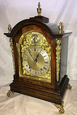 Antique Winterhalder W & H TING TANG Bracket Mantel Clock CLEANED & SERVICED