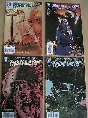 FRIDAY the 13th : ISSUES 2,3,6 of the 6 ISSUE 2007 WS/DC SERIES+ PAMELA'S TALE 1