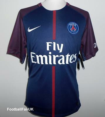 PSG Nike Official Home Shirt 2017-2018 NEW Maillot Domicile Paris St Germain