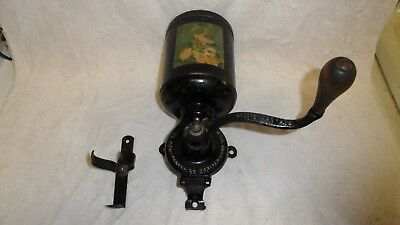 Mint, Maybe Nos--**chas. Parker Meridian Conn. Pat. 1917**--Coffee Grinder