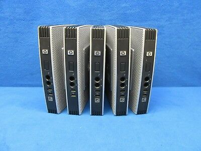 *Lot of 5* HP T5740e Thin Client HSTNC-006-TC Atom 1.66GHz 2GB RAM 4GB Flash