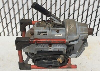 Ridgid Kollmann K-60Sp Sectional Drain Pipe Cleaning Machine Sewer Auger Snake