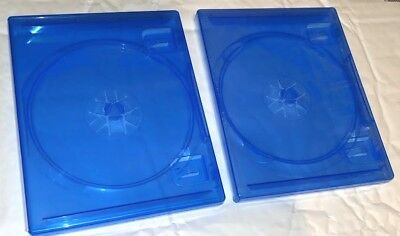 2 x NEW OFFICIAL PS4 Replacement Game Cases Condition CASES Sony Playstation 4