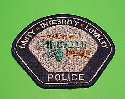 Pineville  Louisiana  La   Police Patch   Free Shipping!!!