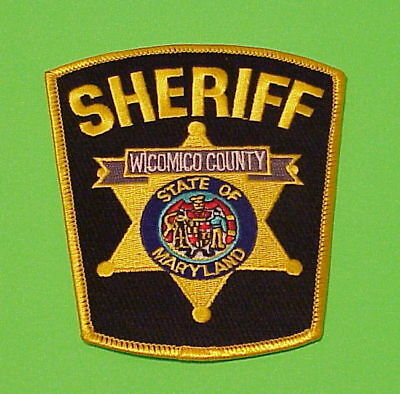 Wicomico County  Maryland  Md  Sheriff /  Police Patch   Free Shipping!!!