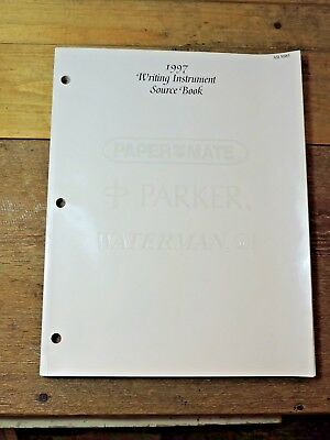 Vintage 1997 Writing Instrument Source Book PARKER WATERMAN PAPERMATE Catalog
