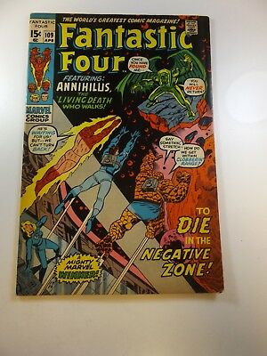 Fantastic Four #109 VG/FN condition Huge auction going on now!