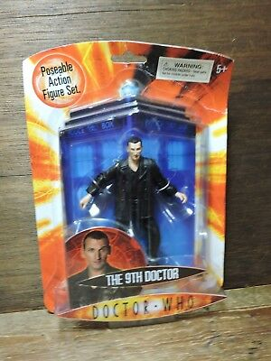 new NOS Vintage 1996  DOCTOR WHO The 9th Doctor Poseable Action Figure BBC 02545