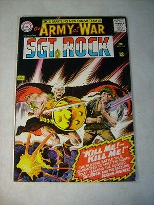 Our Army At War #163 Sgt Rock, Easy Co. , Kubert, 1966, Viking Prince