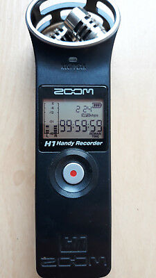 Zoom H1 Audio Recorder for DJs and musicians