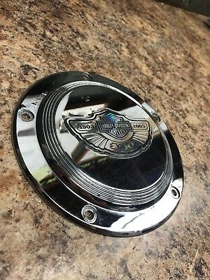 *Harley-Davidson 100th Anniversary 5 Hole Derby Cover, Used, 25001-03*